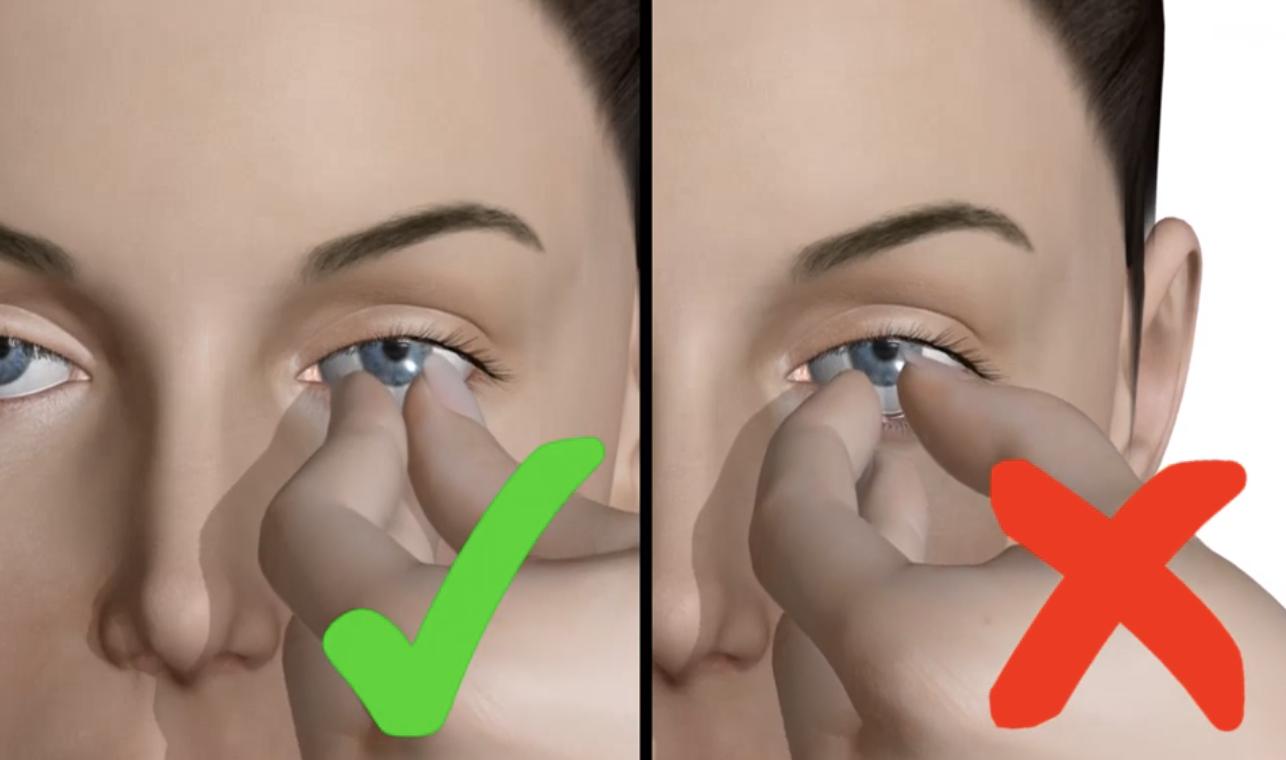 hur tar man ut linser